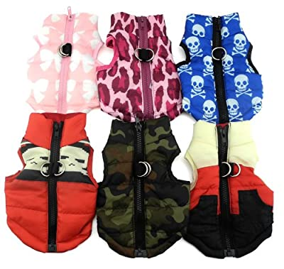 New Various Pet Cat Dog Soft Padded Vest Harness Small dog clothes XS S M L