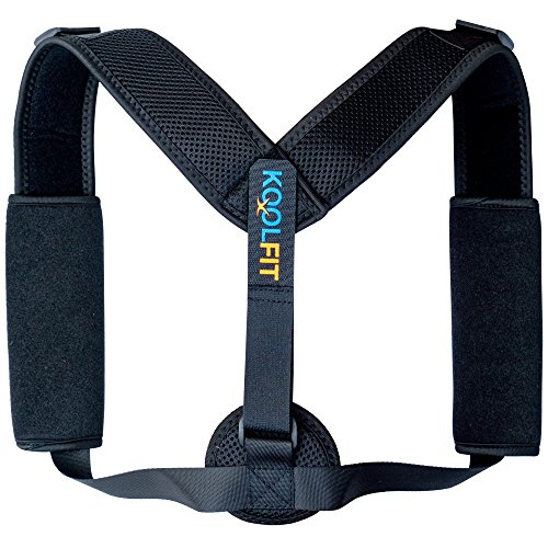 KOOLFIT Back Posture Corrector – Adjustable Back Brace Corrector for Men and Women – Shoulder Pain Relief – Comfortable and User-Friendly – Supports Fast Injury Recovery – Prevents Hunching, Slouching by KOOLFIT (Image #8)