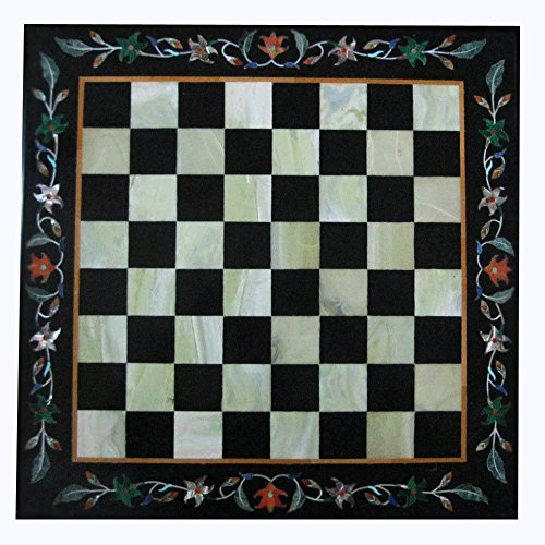 Marble Chess Coffee Table Top 529 ()