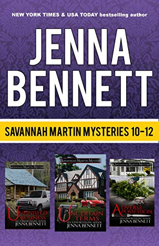 Savannah Martin Mysteries Box Set 10-12: Unfinished