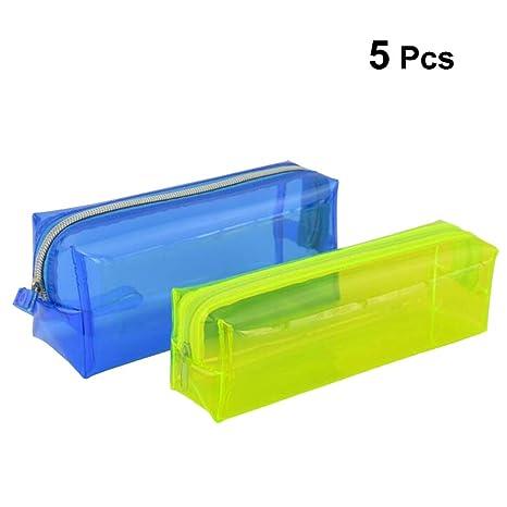 Toyvian Estuche de lápices de plástico Estuche para lápices ...