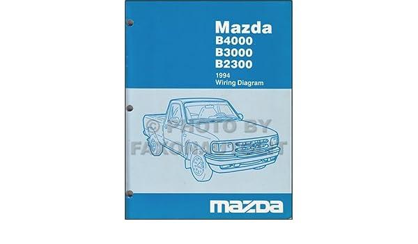 1994 mazda b4000 wiring diagram 1994 image wiring 1994 mazda b4000 b3000 b2300 pickup truck wiring diagram manual on 1994 mazda b4000 wiring diagram