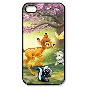 Creative Disney Bambi iPhone 4/4s Fitted Case Hard iPhone 4/4s Case