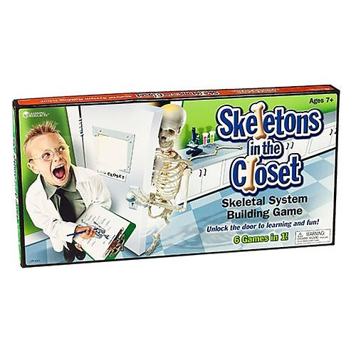 Amazon com : Skeletons In The Closet Game, 19 5 x 10 1 x 1 8