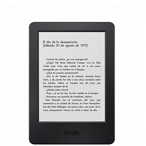 """E-reader Kindle, pantalla táctil antirreflejos de 6"""" (15,2 cm), Wi-Fi (generación anterior – 7ª)"""