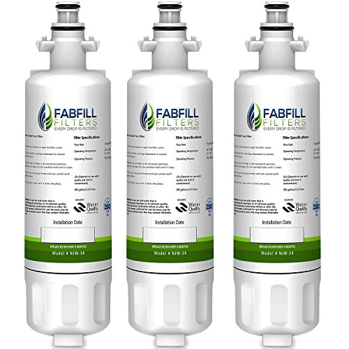 Fabfill LT700P LG Refrigerator Water Filter Compatible repla
