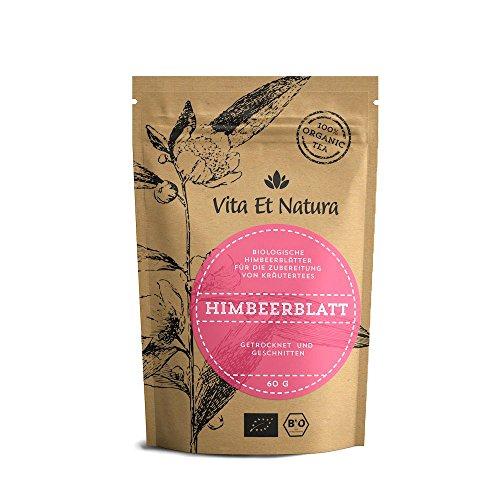 Vita Et Natura BIO Himbeerblätter - 60g loser Tee - Feinste Premium Qualität