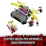LEGO-NINJAGO-La-Macchina-Tuner-dei-Ninja-Kit-da-Costruzione-n-Macchinina-Elaborata-con-Lame-Estraibili-Auto-da-Corsa-Prime-Empire-71710