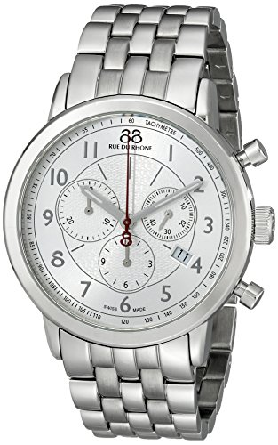 88-Rue-du-Rhone-Mens-87WA120044-Analog-Display-Swiss-Quartz-Silver-Watch