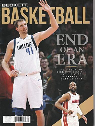 June 2019 Basketball Beckett Monthly Price Guide Vol 30 No 6 Dirk Nowitzki Dalla