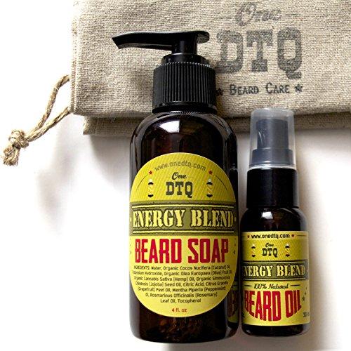 OneDTQ Energy Beard Kit Mustache product image