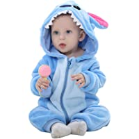 TOHD Unisex-Baby Animal Onesies Flannel Cartoon Romper Animal Outfits