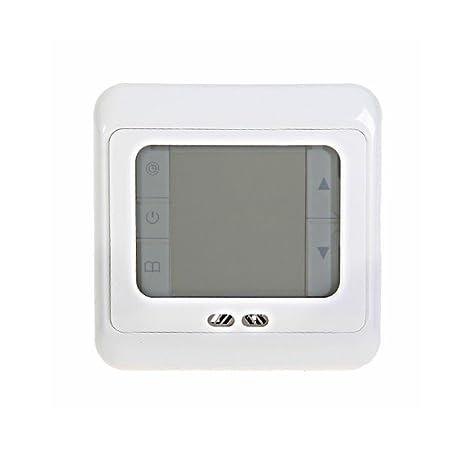 SAILUN 5 Piezas Termostato de Habitación de Termostato Digital Termostato de Programación Termostato de Calefacción Regulador de Temperatura de Habitación ...
