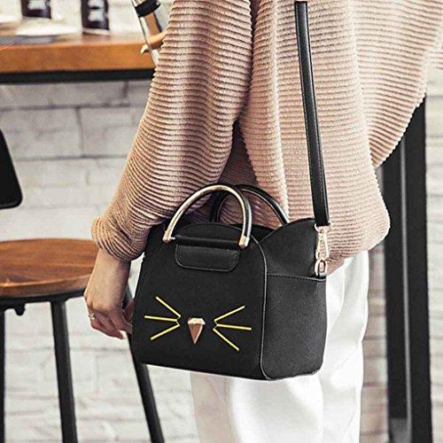 Messenger Lady cuir main fille sac sac Mignon bandoulière à PU Cat Fashion Costume femmes shopping bandoulière à sac à Arichtop A7W50w