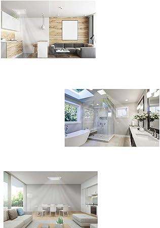 Badl/üfter Abluftventilator 12 Abzugshaube-Badezimmer-Decken-Bel/üftungs-Haushalts-Zoll-Auspuff leistungsf/ähiger leiser D/ämpfer Size : A 5~10m