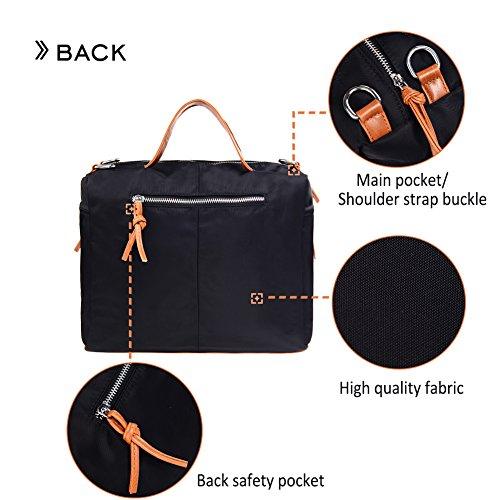 Large Handbag Fashion Shoulder Bag Travel Tote Bag For Women (Brown) by Vintga (Image #4)