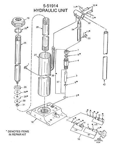 Us Jack Long Ram Hydraulic Jack 3 Ton5 51914 Amazon Com