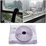 WXLAA Universal Window Seal Air Lock Stop for Air Conditioner and Tumble Dryer 400CM