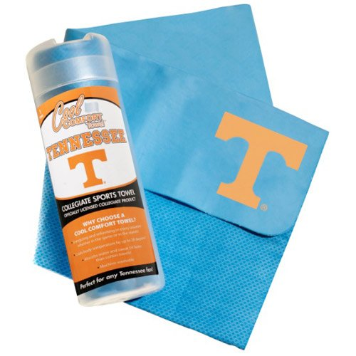 NCAA Tennessee Volunteers Vols Cool Comfort Blue and Orange PVA Hand Body Towel - 27 X 17 Inches by Pro Vision Sports