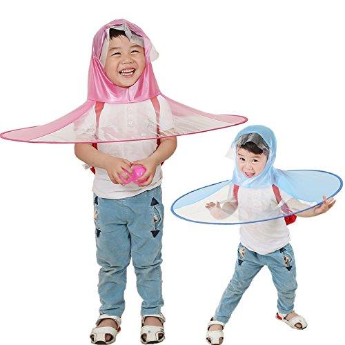 cea3a550c7f0 Creative Umbrella-NACOLA Kawaii Cute UFO Waterproof Hands Free ...