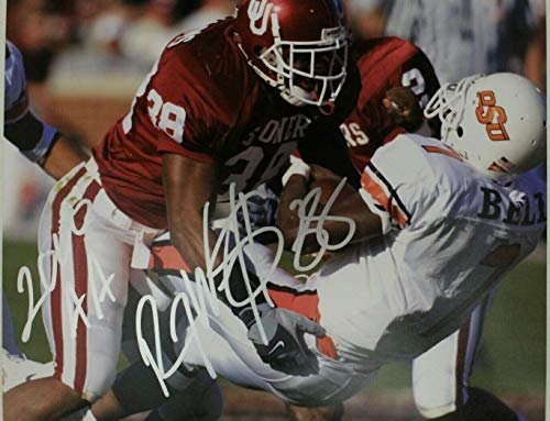 (Roy Williams Oklahoma Sooners Dallas Cowboys Autographed 8x10 Signed Photo)