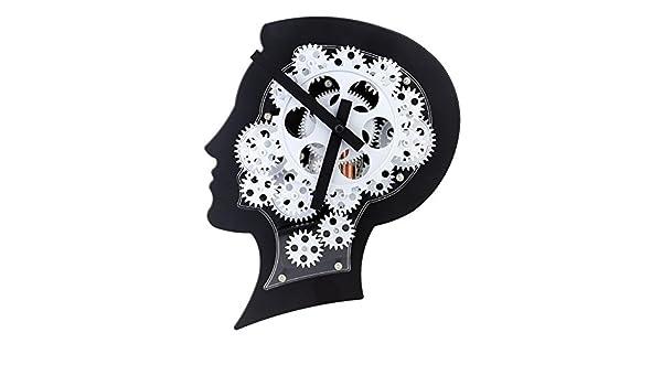 Amazon.com : Super Brain Gear Clock Motion Brain Wall Clock Nice Gift for Friends or Famliy : Everything Else