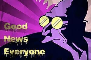 EJ0868 Professor Farnsworth Good News Futurama 36x24 Print POSTER