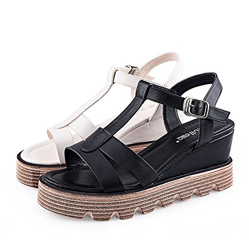 Summer cales lady Chaussures Casual fashion Couche Sandales A double sandales IFwHITrqx