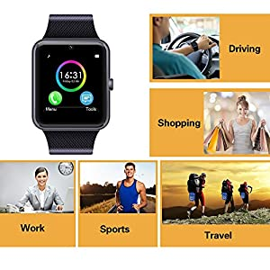 9a4af0d1ac6 ... Smart Watch Compatible for iPhone 5s 6 6s. upc 677892865088 product  image1. upc 677892865088 product image2. upc 677892865088 product image3