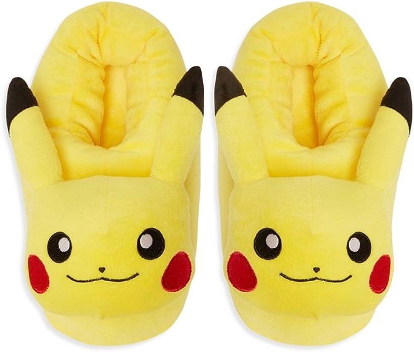 "POKEMON /""Pikachu/"" BOYS Chaussons"