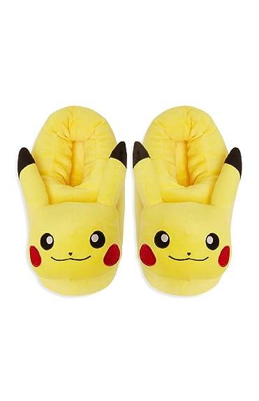 vente chaude pas cher expédition de baisse code promo Pokemon , Chaussons pour homme - jaune - jaune, 44/45 ...