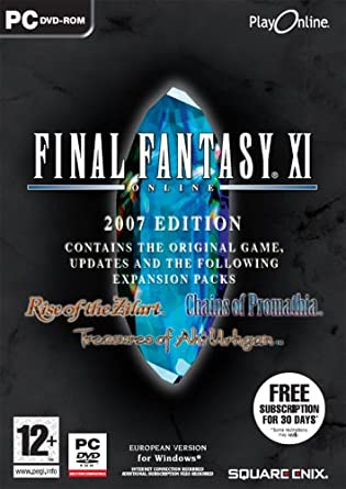 Final Fantasy XI: Online Deluxe Edition (PC DVD): Final