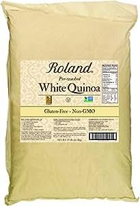 Roland Quinoa, White, 25 Pound