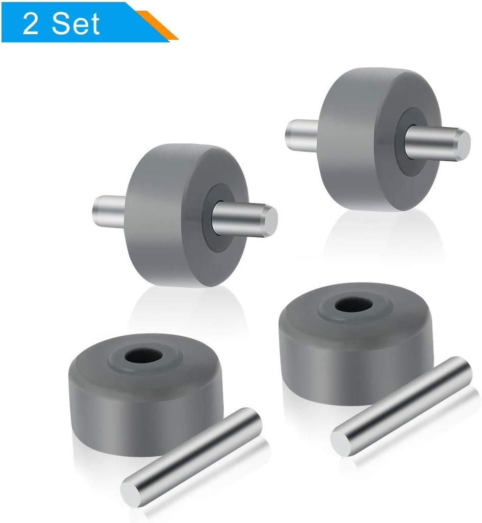 LANMU Replacement Wheels for Shark Vacuum Cleaner,Front Wheel Fits Models NV350, NV351, NV352, NV355, NV356e, NV500, NV501, NV502 and More