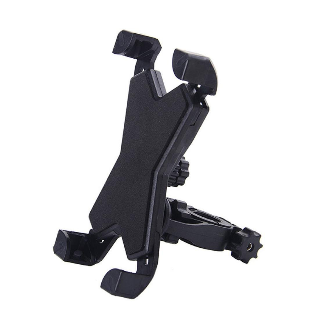 Icocol Bike phone mount,Universal Motorcycle Bike Handlebar Mount Holder For Cell Phone GPS (Black)