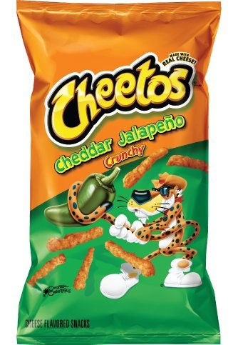 PACK OF 15 - Cheetos Cheddar Jalapeño Crunchy Cheese Flavored Snacks 8.5 oz. Bag by Cheetos (Image #1)