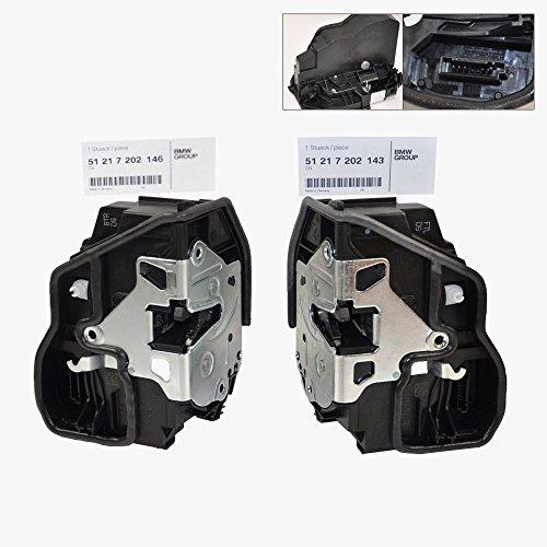 BMW Front Door Lock Actuator Mechanism Left & Right Genuine OE 143/146 (2pcs) (Mechanism Door Car Lock)