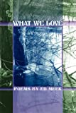 img - for WHAT WE LOVE book / textbook / text book
