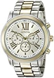 Geneva Women's FMDJM100E Analog Display Japanese Quartz Two Tone Watch