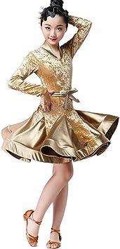 Vestidos Latinos para Chicas para Bailar Vestido De Baile De Salón ...