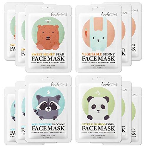 Lookatme Animal face mask Moisturizing product image