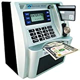 Manage your money with this new improved true to life ATM machine! Feature: * Make saving money fun for kids with the Digital ATM Coin Bank Money Machine.Teach children the importance of saving with this pretend Money Box. * This My Personal ATM Mo...