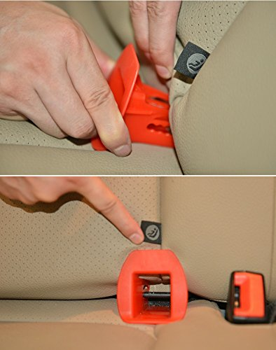 Latch Guide, Passenger Car Child Safety Seats General ISOFIX Interface Belt Latch Guide (RED)