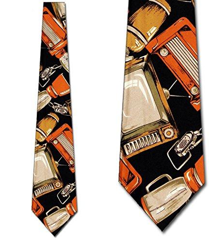Wide 1950's Mens Necktie - 4