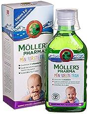 Moller's Omega 3 Noorse Cod-Liver Oil My First Fish Oil voor zwangere vrouwen en baby's 250 ml