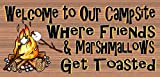 Welcome to Our Campsite – Camping Sign – RV Sign Review