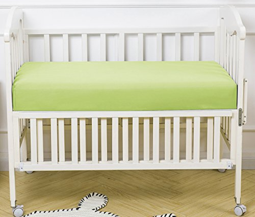 "PHF Crib Fitted Sheets 100% Cotton Deep Pocket 52""X28""X8"" Pa"