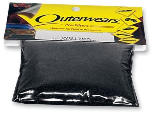 Outerwears Pre-Filter Sheet - 24in. x 24in. WR24BK