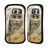 Official HBO Game Of Thrones Daenerys Targaryen Character Portraits Hybrid Case for Samsung Galaxy S6 edge+ / Plus