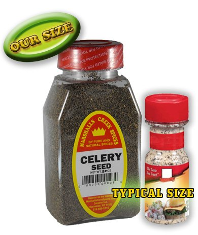 Marshalls Creek Spices New Size Marshalls Creek Spices Celery Seed Seasoning, 8 Ounce, 8 Ounce